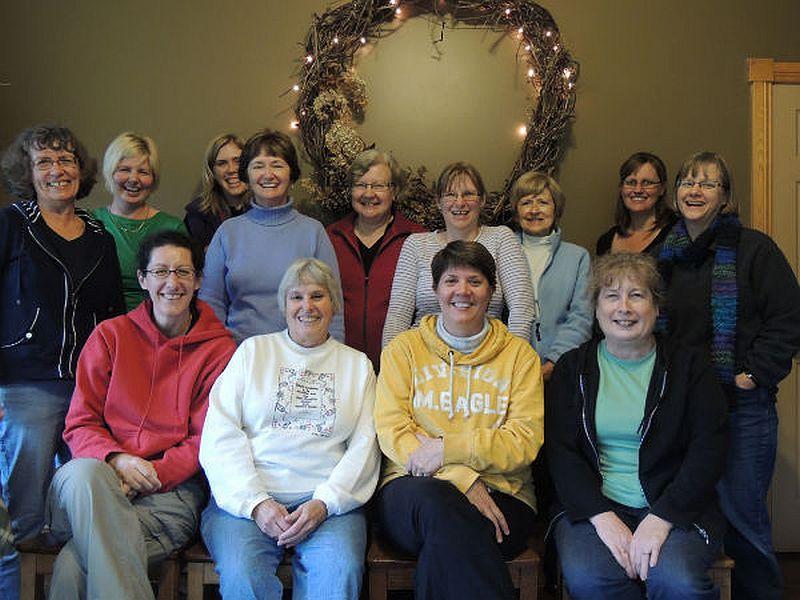 2012WomensRetreatGroup